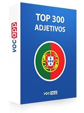 Adjetivos más importantes en portugués