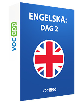 Engelska: dag 2
