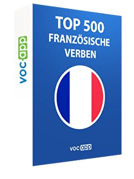 Top 500 französische Verben