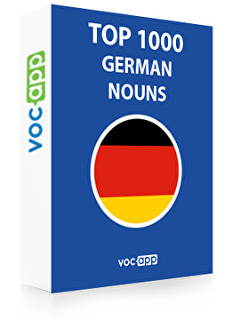 German Words: Top 1000 Nouns
