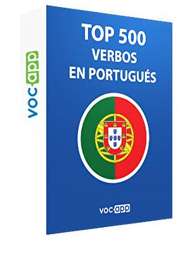 Top 500 verbos en portugués