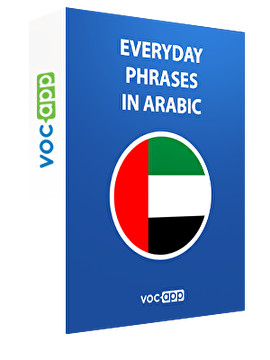Everyday phrases in Arabic