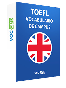 TOEFL - Vocabulario de campus