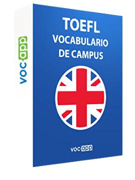 TOEFL - Vocabulario de campus