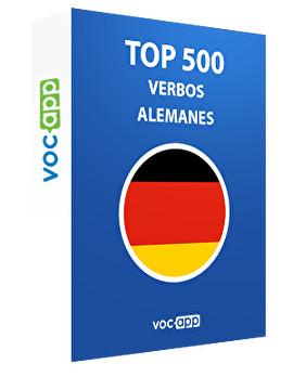 Top 500 verbos alemanes