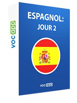 Espagnol: jour 2