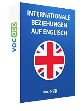 Internationale Beziehungen auf Englisch