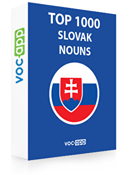 Slovak Words: Top 1000 Nouns