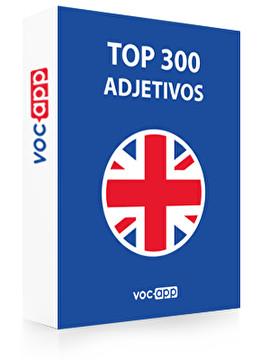 Top 300 adjetivos ingleses