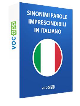 Sinonimi parole imprescindibili in italiano