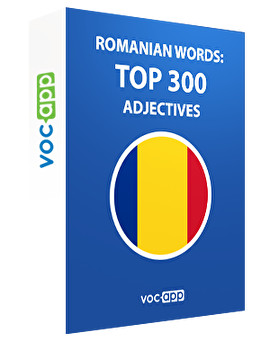 Romanian Words: Top 300 Adjectives