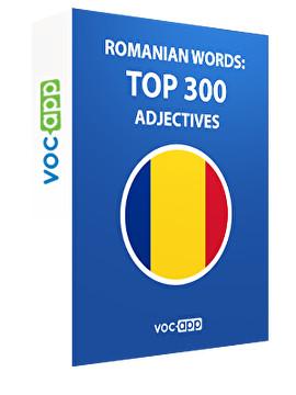 Romanian Words: Top 300 Adjectives