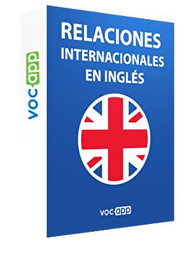 Relaciones internacionales en inglés