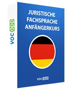 L'allemand juridique - notions de base
