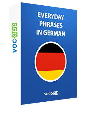 Everyday phrases in German