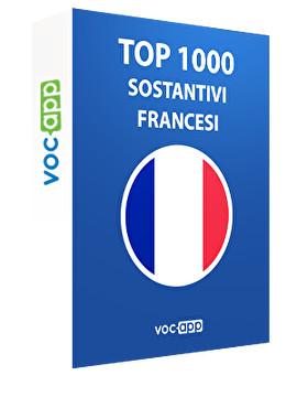 Top 1000 sostantivi francesi