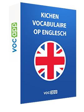 Kichen Vocabulaire op Englesch