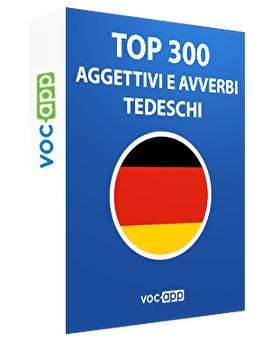 Top 300 aggettivi e avverbi tedeschi