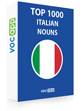 Italian Words: Top 1000 Italian Nouns