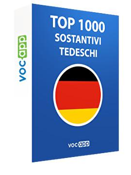 Top 1000 sostantivi tedeschi