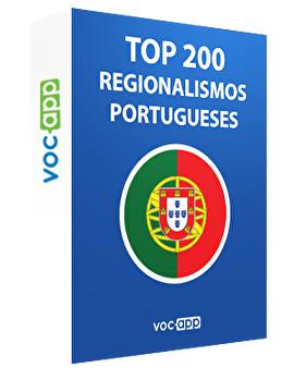 Top 200 portugiesische Regionalismen