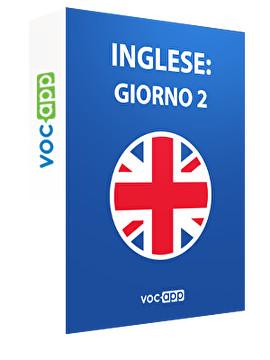 Inglese: giorno 2