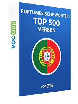 Portugiesische Wörter: Top 500 Verben