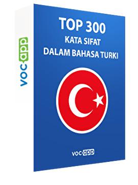 Top 300 kata sifat dalam bahasa Turki