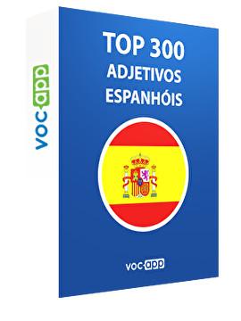 Top 300 adjetivos espanhóis