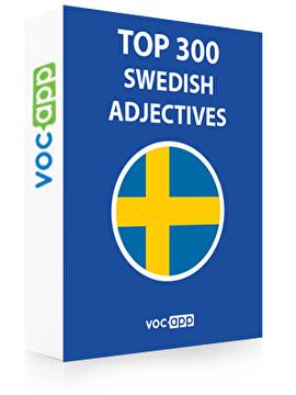 Swedish Words: Top 300 Adjectives