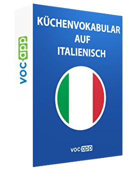 Küchenvokabular auf Italienisch