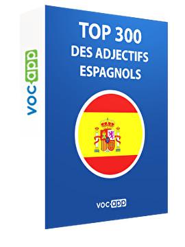 Top 300 des adjectifs espagnols