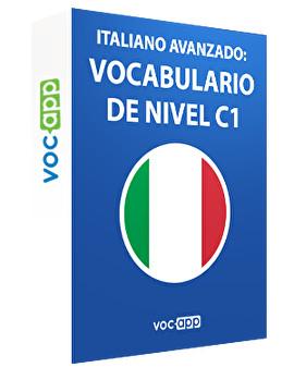 Italiano avanzado: Vocabulario de nivel C1