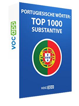 Portugiesische Wörter: Top 1000 Substantive