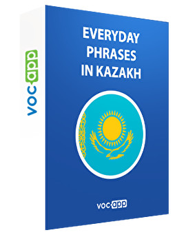 Everyday phrases in Kazakh