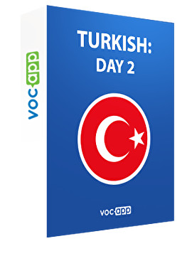 Turkish: day 2