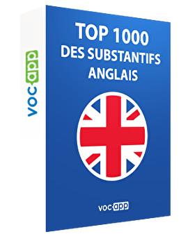 Top 1000 de substantifs anglais