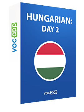 Hungarian: day 2
