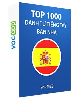 Top 1000 danh từ tiếng Tây Ban Nha