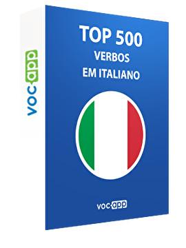Top 500 verbos em italiano