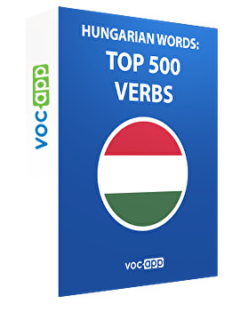 Hungarian words: Top 500 verbs