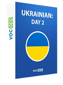 Ukrainian: day 2