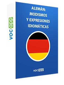 Alemán: modismos y expresiones idiomáticas