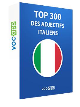 Top 300 des adjectifs italiens