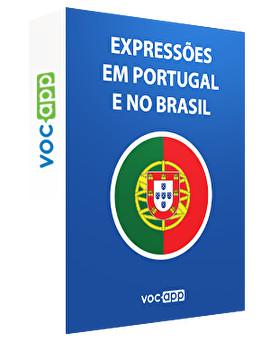 Expressions utilisées au Portugal et au Brésil