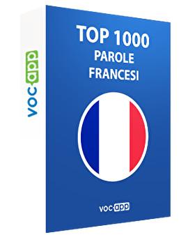 Top 1000 parole francesi