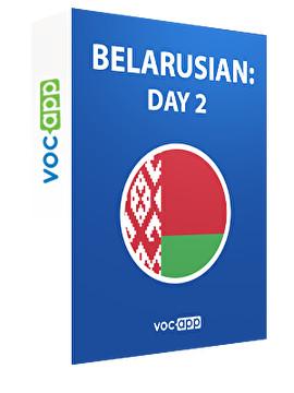 Belarusian: day 2
