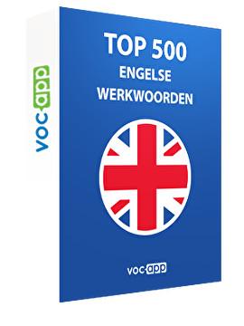 Top 500 Engelse werkwoorden