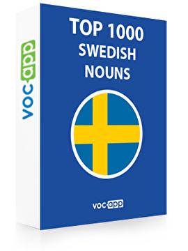 Swedish Words: Top 1000 Nouns