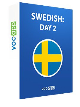 Swedish: day 2